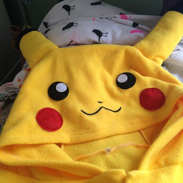 Pikachu Onesie [adult Size]