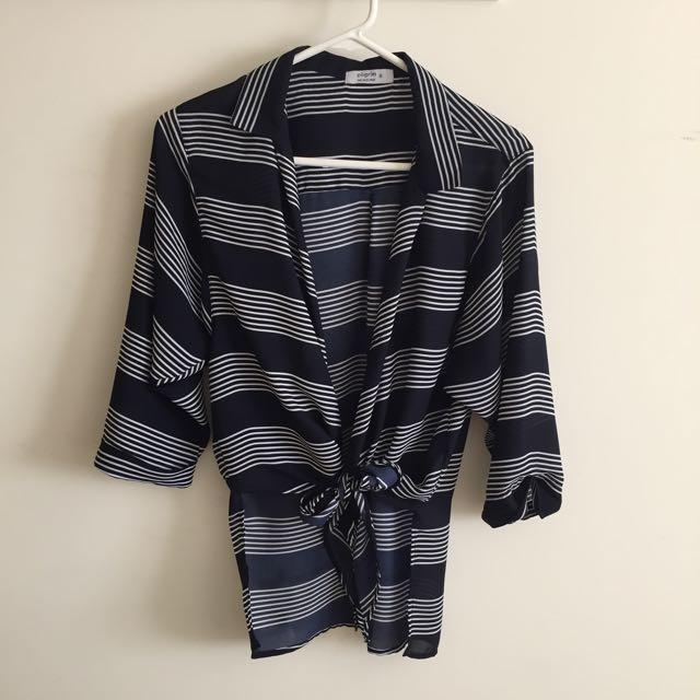 Pilgrim Tie Up Shirt