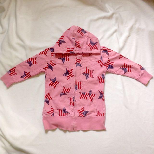Pink Jacket Hoodie Medium