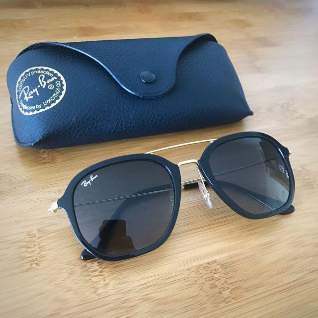 Ray-Ban Sunglasses 2016 Black & Gold