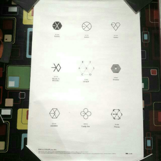 [REDUCED] EXO EXACT OFFICIAL POSTER
