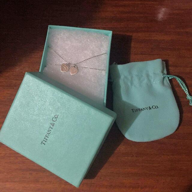 Return To Tiffany Mini Double Heart 💯