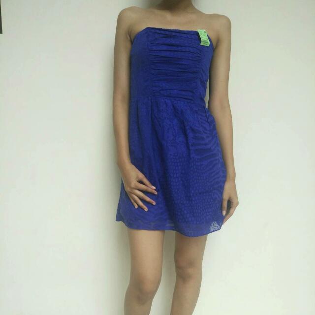 Sexy Blue Dress By Express