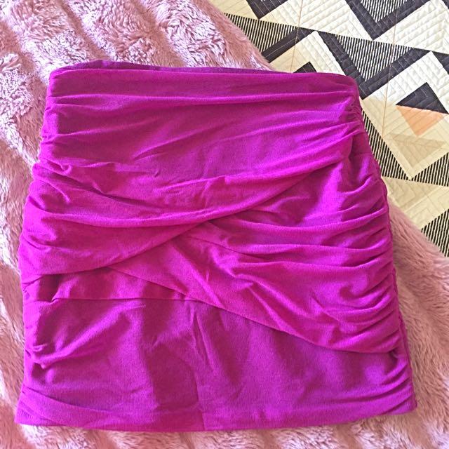 Size 10 Dotti Skirt Pink/purple