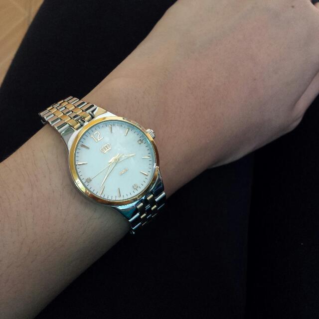 Sophie Paris Two Tone Watch