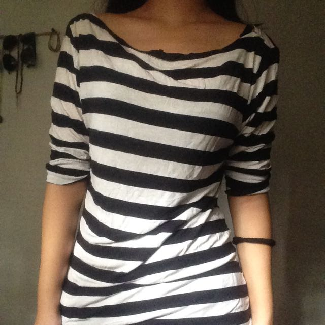 Striped Longsleeved Top
