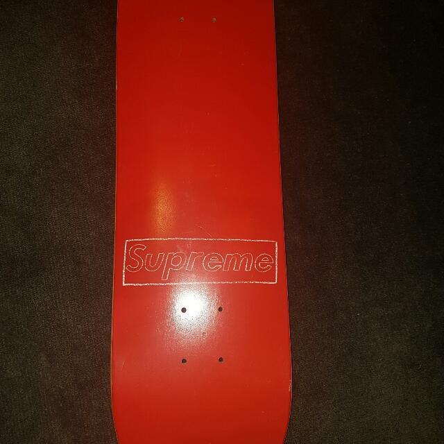 Supreme Logo Skateboard Deck