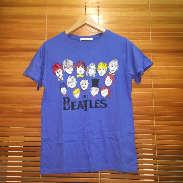 The Beatles印花圖案T-shirt