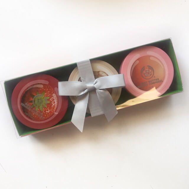 The Body Shop Body Butter Mini Trio Gift Set