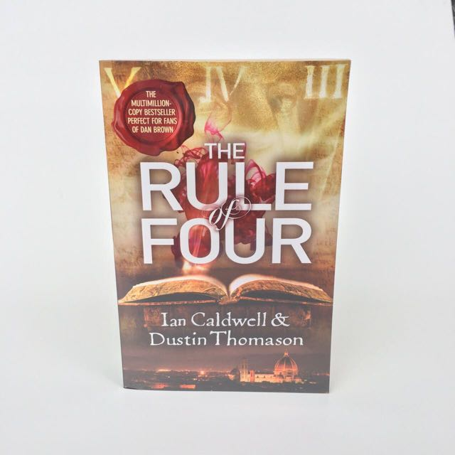 The Rule of Four Book