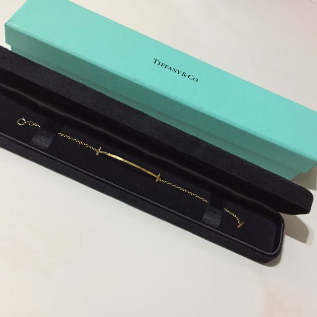 53c865301bd69 Tiffany & Co. T-Smile Bracelet 18K Gold, Luxury, Accessories on ...
