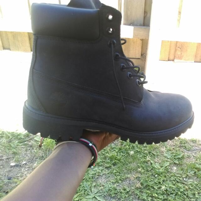 Timberlands Black