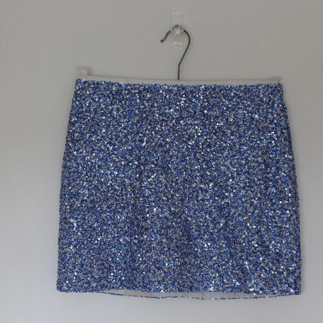 Topshop sequin skirt