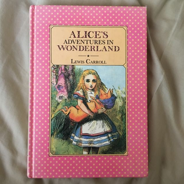 Vintage Alice's Adventures In Wonderland