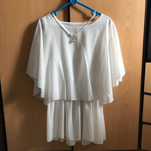 white dress 👗