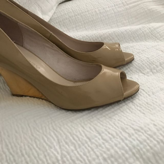 Witchery Leather Heels Size 38