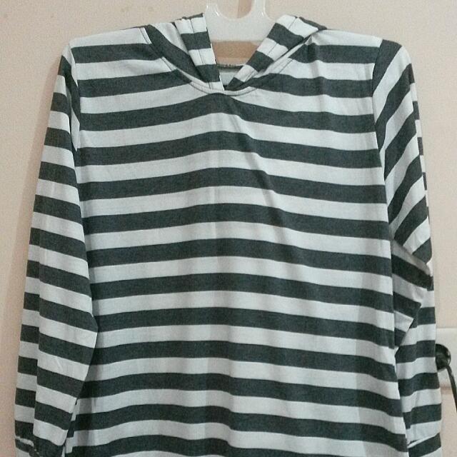 Woman Hoodie Stripes