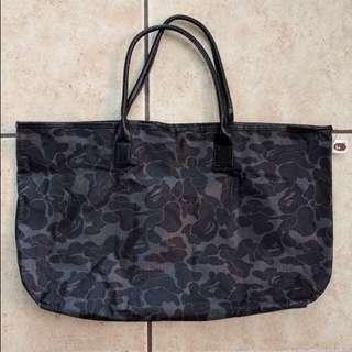 Bape Black Camo Tote Bag