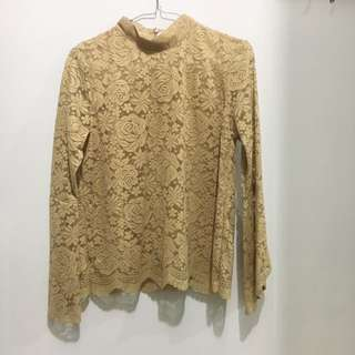 Chocochips Top Lace