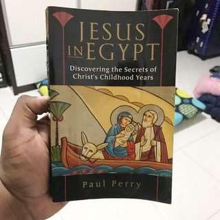 Jesus In Egypt By Paul Perry