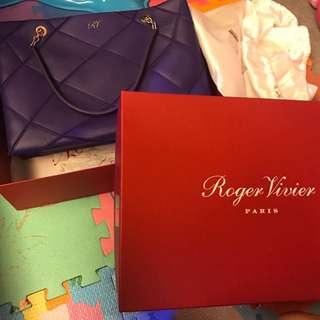 Roger Vivier Purple Bag