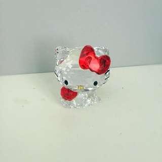 Authentic Swarovski Hello Kitty Statue