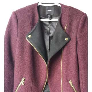 Cute plum jacket