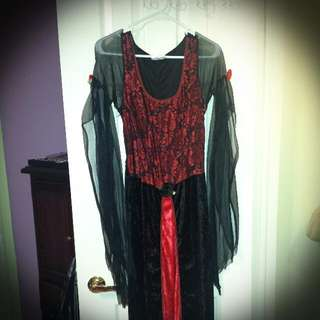 Halloween Vampire Costume