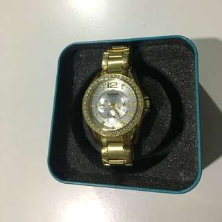 REDUCED- Fossil Gold Watch