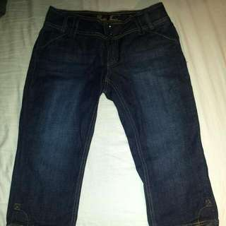 GUESS Jean Capri Pants