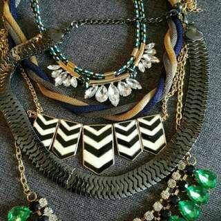 5 Necklaces