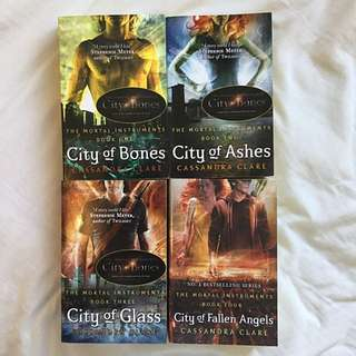 The Mortal Instruments Books 1-4