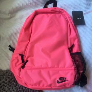 Brand New Fluro Pink Backpack