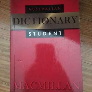 Macmillan Australian Dictionary Student