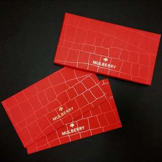 Mulberry Angpow / Red Packet