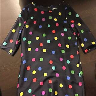 Kate Spade Polka Dot Dress - Size 8