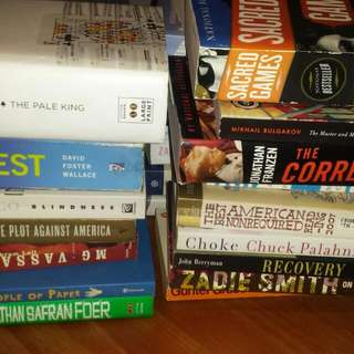 Fiction Books- Large Collection, Modern Literature