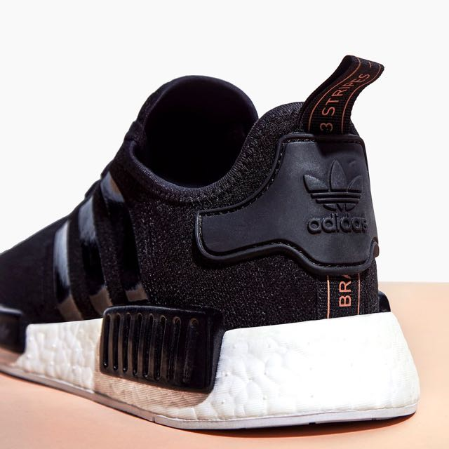 huge selection of 6fb88 d124e 100% Authentic & New Adidas NMD R1 Black / Rose Gold (Sold ...
