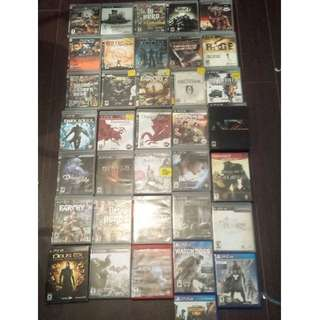 PS4 and PS3 Games - Moving Sale