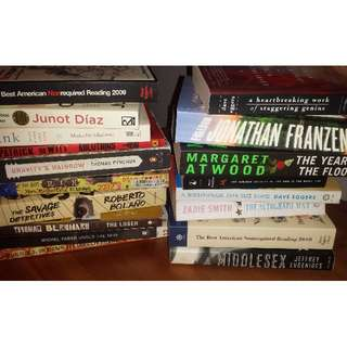 Moving Sale- Tons of Modern and Classic Fiction
