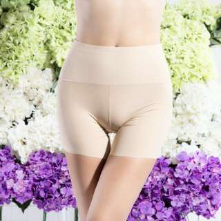Japan Celebrity Secret Hips Up Spanx Slimming Seamless Ice Silk High Tummy Tuck Waist Hugger Panties / Girdle