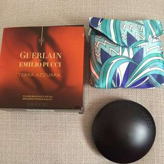 GUERLAIN by EMILIO PUCCI BLUSHER/BRONZER COMPACT