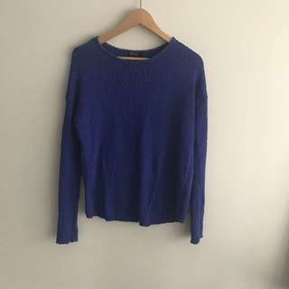 MNG | Blue Jumper