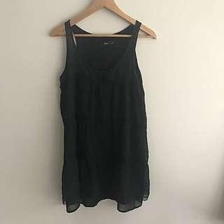 Sportsgirl | Black Lace Dress | Size 10