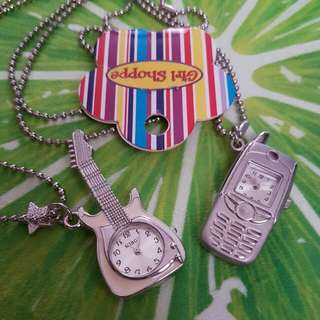 Girl Shoppe Necklace/Watch