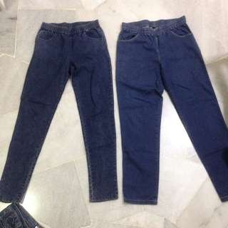 Stretchable Waist Denim