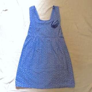 Blue Babydoll Dress
