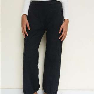 Grey Unique Pants