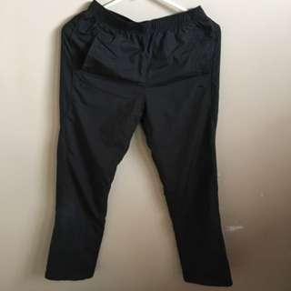 Black Anta Track pants
