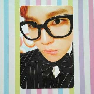 EXO-CBX Hey Mama Photocard - Baekhyun